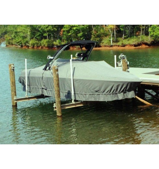 Malibu Ride 23' with Illusion X Tower | 2012 | Waterline Fit - covers swim deck