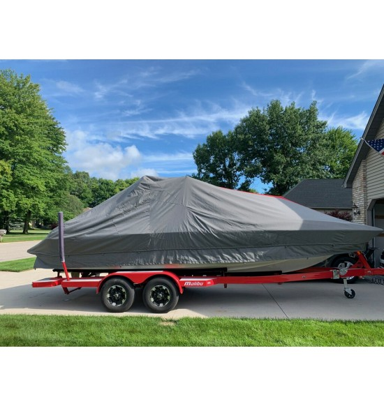 Malibu Wakesetter MXZ 22' with G-3.5 Tower folded down  | 2018 - 2020 |  Waterline Fit - covers swim deck