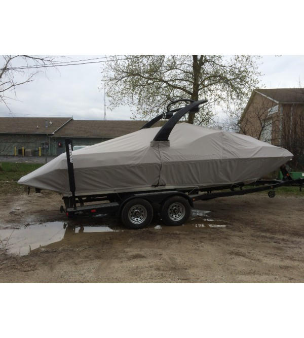 Malibu Wakesetter LSV-VLX 21' with Illusion Tower | 2005 - 2008 | Waterline Fit - covers swim deck