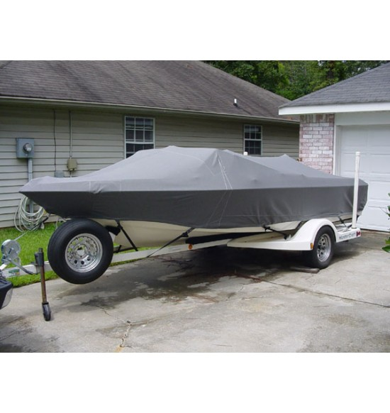 MasterCraft 19' Stars & Stripes (Square Windshield)  1980 - 1986 | Waterline Fit - covers swim deck