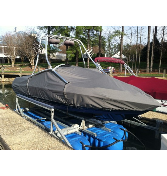 MasterCraft X-7 Bow Rider with Factory Tower | 2005 - 2006 | Waterline Fit - covers swim deck ** All X-7's Tower measurements required