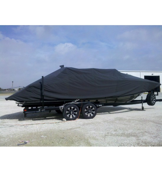 MasterCraft X-55 Bow Rider with Power Tower Folded Down (Waterline Fit) | 2011 - Present
