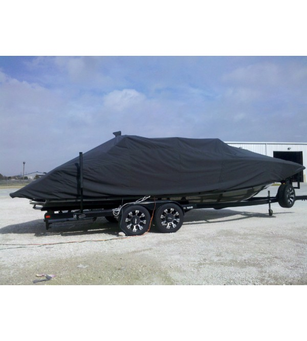MasterCraft X-55 Bow Rider with Power Tower Folded Down | 2011 - 2013 | Waterline Fit - covers swim deck