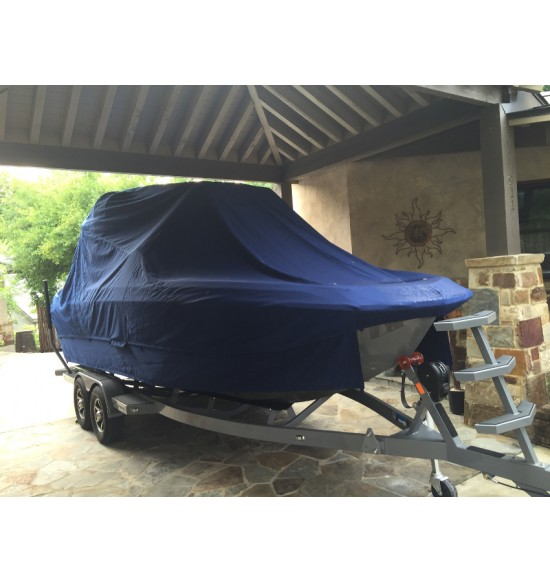 Nautique G-25 Bow Rider with Tower folded down | 2013 - 2018 | Waterline fit - covers swim deck